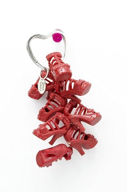 Amazon.com: Rojo Gladiador Sandalia muñeca Shoe Llavero: Jewelry