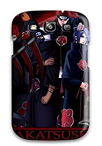 Durable Defender Case For Galaxy S3 Tpu Cover Akatsuki