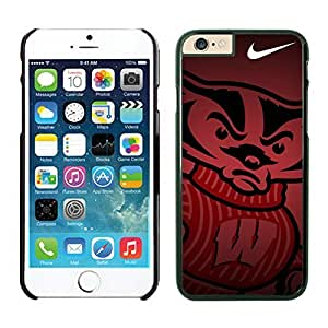 Iphone 6 Protective Skin NCAA-BIG TEN Wisconsin Badgers 10 Iphone 6 4.7 Inches TPU Cover Case