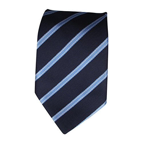 Gold Green Stripe Silk Necktie - TLOMPLO Classic Forest Blue Dot Mens Tie Gold Stripe Silk Necktie Set Wedding Tie t-37-10