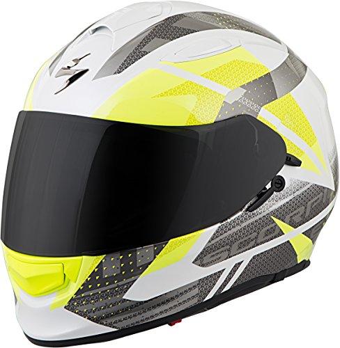 Scorpion EXO-T510 Helmet - Fury (Medium) (White/Silver/NEON)