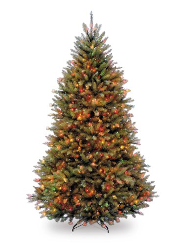 National Tree 6.5 Foot Dunhill Fir Tree with 650 Multicol...