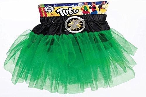 Forum Novelties Child Hero Tutu Costume, Green (Kids Supergirl Tutu Costume)