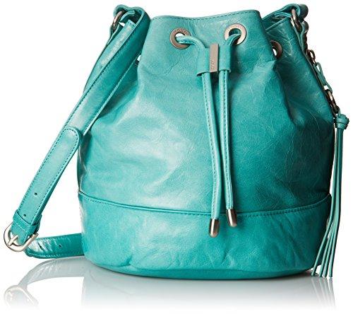 - HOBO Vintage Tulia Draw-String Cross Body Bag, Aqua, One Size