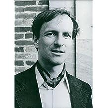 Vintage photo of Portrait of Claude Nicollier, 1979.