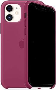 ForH&U Silicone Case Compatible for iPhone 11, Liquid Silicone Non-Slip Case Compatible with iPhone 11-6.1 inch (Pomegranate)