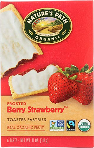 Nature's Path (NOT A CASE) Organic Toaster Pastries Berry Strawberry -
