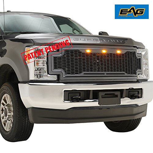 EAG Replacement Upper Grille Front Mesh Grill Fit for 17-19 Ford F250 F350 Super...