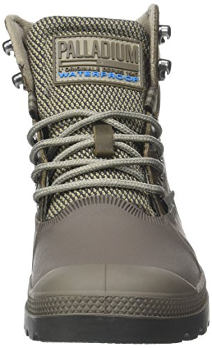 Palladium Major Sporcuf Sneaker Fallen U Unisex Wp2 a Collo 0 Rock Brown Adulto Alto Grigio rIrqOdw