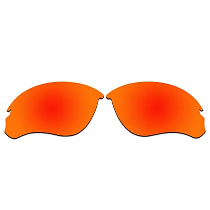 7baf4e8f53 ACOMPATIBLE Replacement Lenses for Oakley Speed Jacket Sunglasses OO9228 (Fire  Red - Polarized)