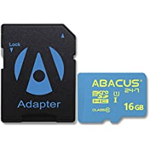Abacus24-7 16GB Memory Card for Bestguarder DTC-880V, Browning Command Ops, Dark Ops Elite HD, Recon Force Full HD, Spec Ops Platinum FHD,Strike Force HD Elite, Terra 5, Vision 8 TruBark Trail Cameras
