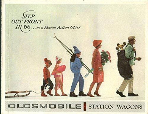1966 Oldsmobile Station Wagons brochure Vista-Cruiser F-85 - Oldsmobile Station Wagons