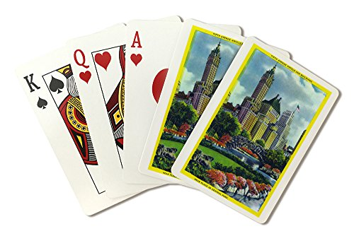 nyc-new-york-central-park-plaza-view-of-5th-ave-hotels-and-bldgs-playing-card-deck-52-card-poker-siz