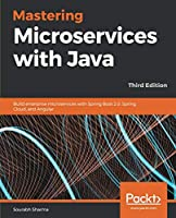 Mastering Microservices with Java, 3rd Edition Front Cover
