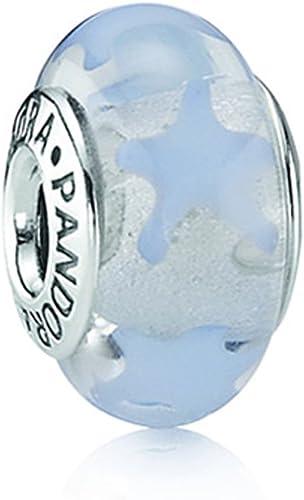 Pandora - 790904 - Drops Femme - Verre de Murano - Bleu - Etoile