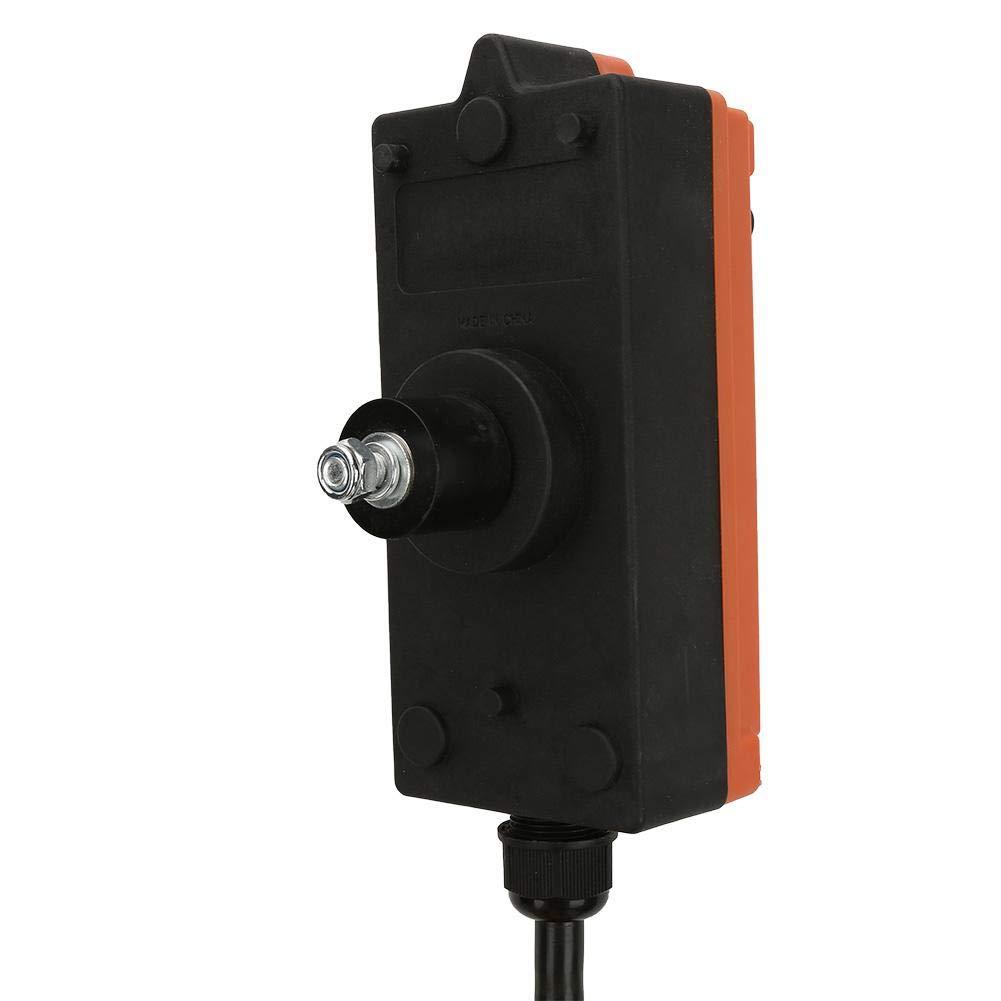 Keenso AC 220V Impermeabile Radio industriale Telecomando senza fili Trasmettitore e ricevitore Industriale Gru paranco a canali Sistema di controllo remoto industriale