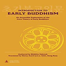 Introduction to Early Buddhism: An Accessible Explanation of the Core Theory of Early Buddhism Audiobook by Bhikkhu Kakmuk Narrated by Sean Slater