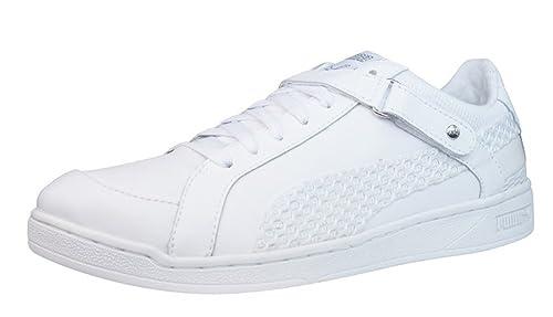 8ba31e37e6ca PUMA The Key Lo Net Womens Leather sneakers Shoes - White - SIZE US 9