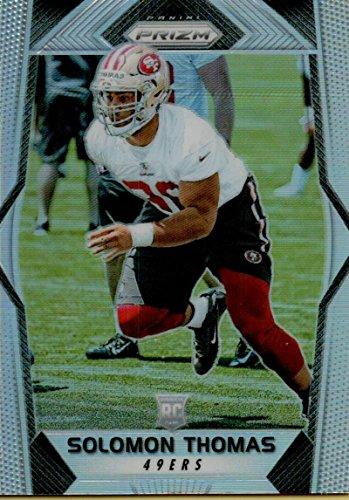Football NFL 2017 Prizm Prizm #252 Solomon Thomas Rookie RC Rookie 49ers by