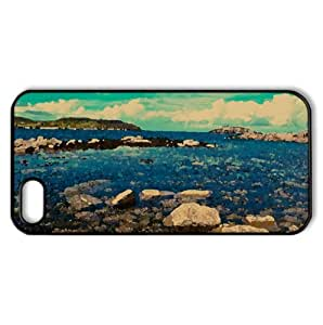 Atlantic Coast, Cruit Island, Donegal, Ireland Watercolor style Cover iPhone 5 and 5S Case (Ireland Watercolor style Cover iPhone 5 and 5S Case)