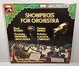 Showpieces for Orchestra, Ravel Bolero, Chabrier Espana, Stravinsky Fireworks Circus Polka, Prokofiev Classical Symphony