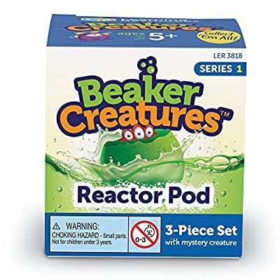 Learning Resources Beaker Creatures Reactor Pod, Assorted: Toys & Games