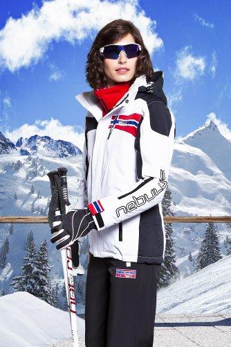 NEBULUS Freestyle - Chaqueta de esquí blanco