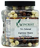 Chocolate Espresso Beans - 1.5 Lb Tub (Tri Colored)