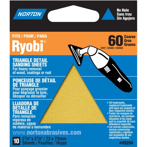 norton-07660749284-adhesive-backed-triangle-sanding-sheet-for-ryobi-sander-p60-grit-coarse-grade-pac