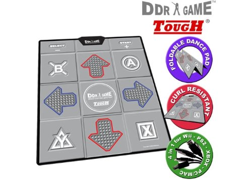 DDR Non-Slip Dance Pad for PS/PS2, Wii, Xbox and PC (Ddr Pad)