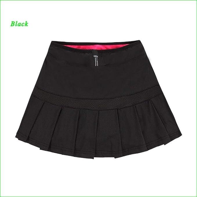 YUNGYE Deportes Tenis Faldas Plisadas Una Línea De Falda con ...
