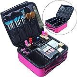Large Travel Makeup Bag Pink Makeup Case Cosmetic Bag Organizer Deal