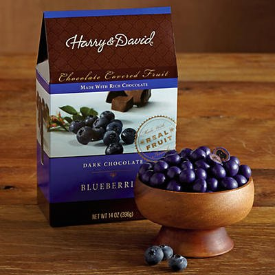 Dark Chocolate-Covered Blueberries - Gift Baskets & Fruit Baskets - Harry and David 14 oz