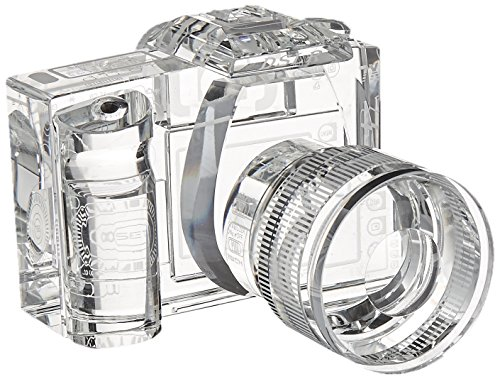 Fotodiox Crystal Display Paperweight Bookends