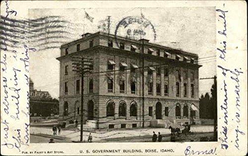 U.S. Government Building Boise, Idaho Original Vintage - Idaho Boise Stores