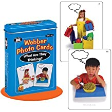 """Webber """"What Are They Thinking?"""" Photo Card Deck - Super Duper Educational Learning Toy for Kids"""