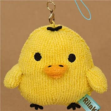 Amazon.com: Kiiroitori amarillo pollito cabeza felpa encanto ...