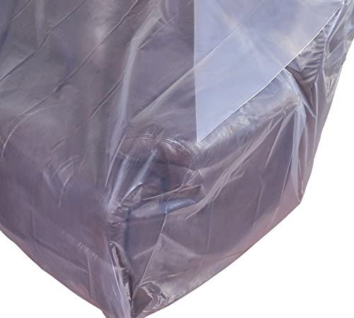 5160qzCIFrL. AC CRESNEL Furniture Cover Plastic Bag for Moving Protection and Long Term Storage (Sofa)    This extra thick plastic bag will withstand tear and rip from moving. Made with premium grade all new, non-recycled plastic it is highly durable, able to keep your sofa well protected even in long term storage. Money back satisfaction guarantee.