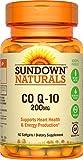 Sundown Naturals® Co Q-10 200 mg, 40 Softgels For Sale