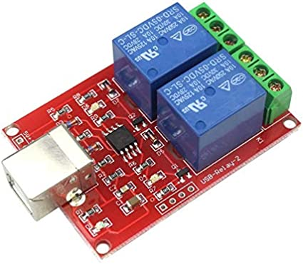 Commutateur de Commande d/'USB D/'ordinateur Module De Relais de DC