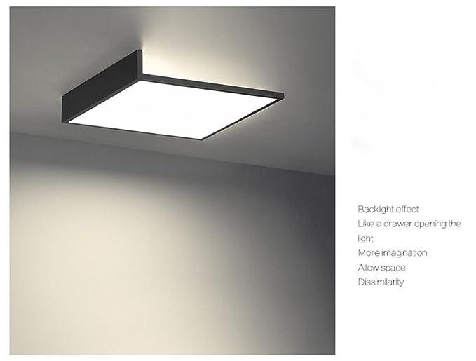 Modern - Lámpara LED de techo rectangular Diseño Lámpara de ...