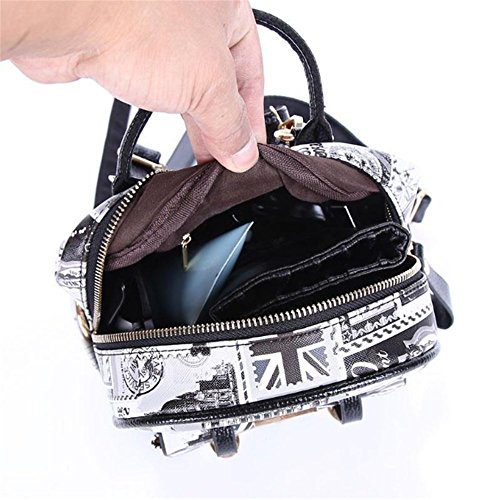 LINNBER - Bolso mochila  de Otra Piel para mujer 5