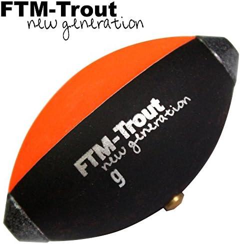 FTM Trout Spotter Signal Ei - Schwimmkugel zum Forellenangeln, Angeln mit Oberflächenmontagen, Forellenpose, Forellenschwimmer