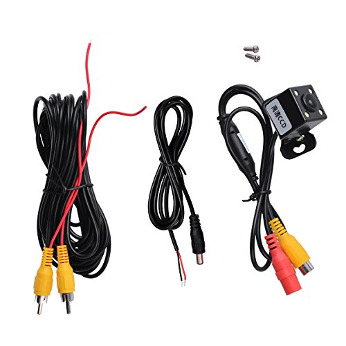 Colour Imaging Kit (Qiming star Small butterfly Car Rover Night Vision Car Rear View Camera 170 Degree Rear-view Back-up and 1/4 Color CCD Imaging Chip Truck Car Rear View Camera)
