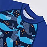 Little Boys Two-Pieces Fish Print Long Sleeve Rash