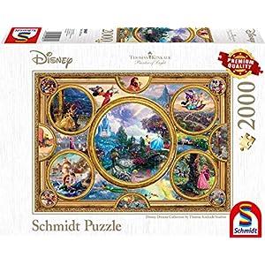 Schmidt Spiele 59607 Puzzle Thomas Kinkade Disney Dreams Collection 2000 Pezzi