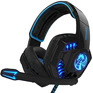Amazon.com: I8 3.5mm Wired PC Over-Ear Stereo Gaming