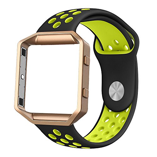 Fitbit Silicone Alritz Wristband Yellow
