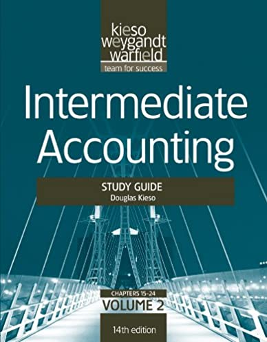 amazon com intermediate accounting study guide vol ii volume 2 rh amazon com Wiley Intermediate Accounting 15th Edition Intermediate Accounting 14th Edition Solutions