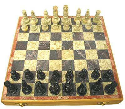Soapstone Chess Set by OL